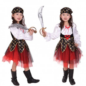 Halloween Costume Stage Performance Dress Girls Pirate Dress Pirate Clothing