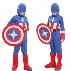 Halloween Costume Us Captain Clothes Avenger Union Us Captain Shield