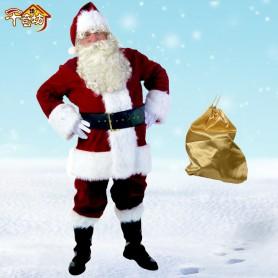 Christmas Suits Santa Claus Costume Suits Christmas Suits Large Santa Claus Clothing Christmas Decorations