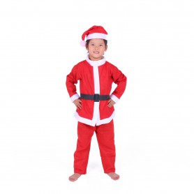 Europe and The United States Christmas Clothing Years Old Santa Claus Suit Suit Christmas Supplies