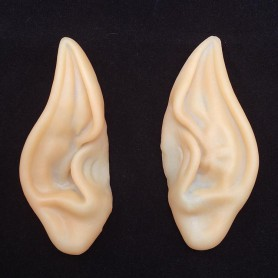 Halloween Elf Ear Earrings Dress Up False Ears Ear Ears Latex Varnish Fairy Ears