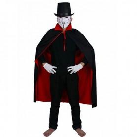Halloween Costume Dress Black Red Double Vampire Cloak Death God Devil Devil Cloak
