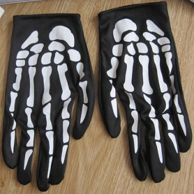 Halloween Ghost Festival Hand Skull Handguard Terror Ghost Claw Gloves Death Gloves