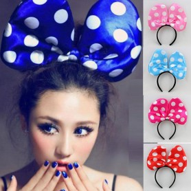 Giant Big Bow Hoop Big Mouse Mouse Hair Glowing Butterfly Headband