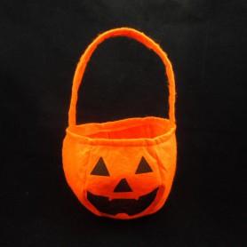 Halloween Portable Non-woven Pumpkin Bag Three-dimensional Pumpkin Bag Candy Bag Children