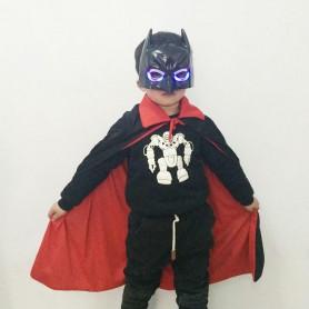 Halloween Gauntle Batman Set Adult Child Magic Death Vampire Black Cloak Cloak Set