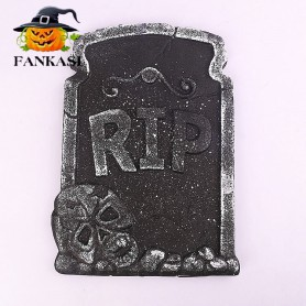 Halloween Decorative Foam Tombstone Monsters Background Green Skeleton Horror atmosphere Venue layout