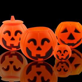 Handle Pumpkin Barrel Halloween Kindergarten Decoration Halloween Gift Pumpkin Light Candy Tank Toy