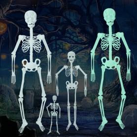 Luminous Skeleton Skeleton Halloween Activities Haunted House Decoration Supplies M Fluorescent Skeleton