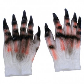 Halloween Make-up Character Dress Gloves Devil Gloves Horror Ghost Gloves Horror Simulation