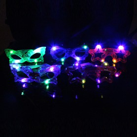 Illuminated Colorful Glasses Funny Funny Entire Glasses Butterfly Style Style Glasses Children Toys