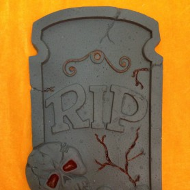 Halloween Haunted House Ktv Scene Layout Bubble Big Tombstone Halloween Tombstone