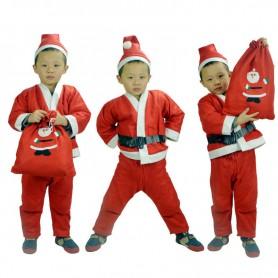 Christmas Clothes Santa Claus Santa Claus Clothes Costumes Children Boys Christmas Clothes