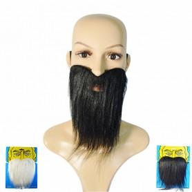 Halloween Supplies Fake Beard Fake Beard White Beard Black Beard Beard Santa N