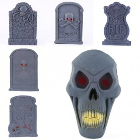 Halloween Supplies Halloween Decorative Haunted House Set Scarlet Halloween Gate Tombstone