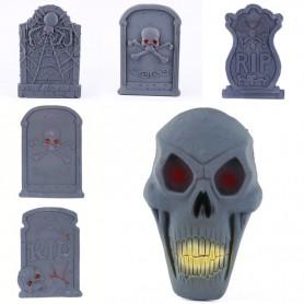 Halloween Supplies Halloween Decorative Haunted House Set Scarlet Halloween Gate Tombstone