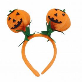 Halloween Dress Up Child Adult Pumpkin Headband Hoop Headdress 3D Pumpkin Headband Pumpkin Decoration