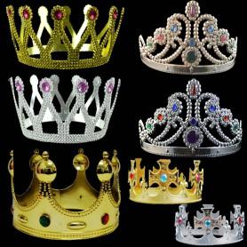 Halloween Hair Hoop Headdress King Hair Circle Princess Fengguan Nine Drill Head Hoop Hair Ornaments