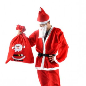 Santa Claus Costume Christmas Christmas Backpack Santa Claus Dress Up Christmas Dress