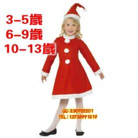 Christmas People Dress Up Christmas Girl Costume Christmas Skirt Christmas Dress Two Sets of Children Clothing