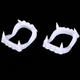 Halloween Cosmetics White Dentures Dental Zombies Vampire Guam Funny Bugs