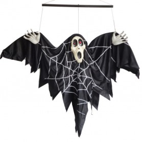 Halloween Supplies Halloween Decorative Voice-activated Electric Bat Goggles Halloween Ghosts