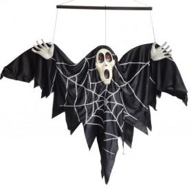 Halloween Supplies Halloween Decorative Voice-activated Electric Bat Goggles Halloween Ghosts