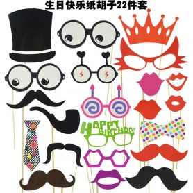 Product Birthday Beard Paper Beard Wedding Funny Beard Funny Fun