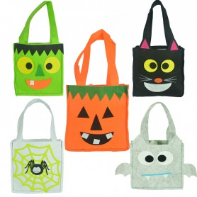 Halloween Pumpkin Bag Non-woven Bag Ghost Pumpkin Skull Blanket Bag Bag Ghost Festival Ornament
