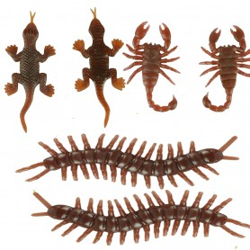 Fool Day Tricky Toys Simulated Insect Animal Model Centipede Gecko Scorpion Halloween Accessories