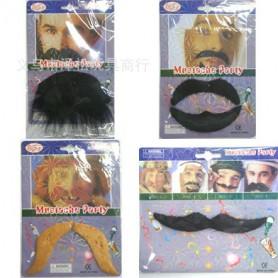 Halloween Dress Up Cosmetics Fake Beard Bearded Arab Bearded