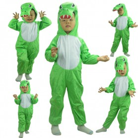 Christmas Children Crocodile Performance Clothes Animal Clothing Stage Performance Costume Crocodile Conjoined Clothing
