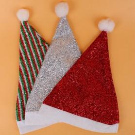 Christmas Man with Christmas Hat Santa Claus Dress Up Christmas Hat