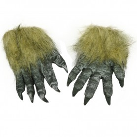 Halloween Performance Dress Up Ghost Festival Gloves Terrorist Terrorism Scary Wolves Gloves