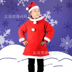 Christmas Costumes Christmas Children Clothing Christmas Dresses Christmas Dresses Two Sets of Non-woven Fabrics