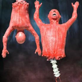 Halloween Horror Decoration Crocodile Upper Body Hanging Ghost Ghost Festival Pendant Ghost Festival Red Pa Gui Gui Gui