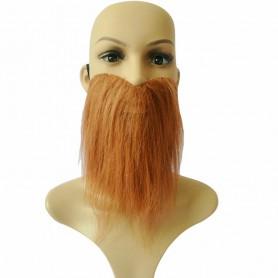 Halloween Supplies Makeup Remoist Beard Bearded Brown Beard