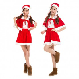 Christmas Stage Dress Up Gold Velvet Christmas Dresses on Campus Clothing