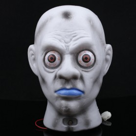 Halloween Haunted House Ktv Skull Head Ghosts Glowing Ghost Head Lights Light
