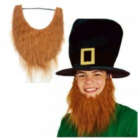 Halloween Makeup Brown Beard Fake Beard Beard U-shaped Beard