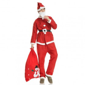 Chinese Christmas Decorations Christmas Christmas Suits Christmas Suits Adult Santa Suits Christmas Clothes