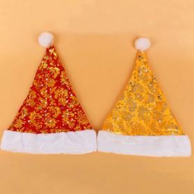 Christmas Decorations Christmas Costumes Christmas Children Hat Adult Velvet Christmas Hat