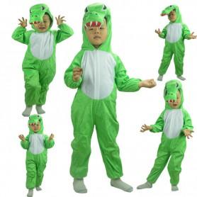 Halloween Christmas Child Stage Performance Siamese Cartoon Crocodile Clothing