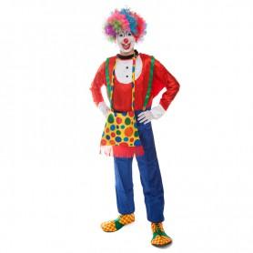 Christmas Costume Makeup Dress Adult Clown Clothes Funny Clown Suits Blue Pants Clowns