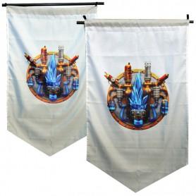 The New Tribal Alliance Banner Hero League Five Countries Banner Zaun