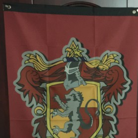 Wholesale Harry Potter Decorative Flag 75X125CM Gryffindor
