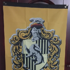 Wholesale Harry Potter Decorative Flag 75X125CM Hufflerpuff