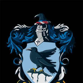 Wholesale Harry Potter Decorative Flag Black 75X125CM Raven Claw